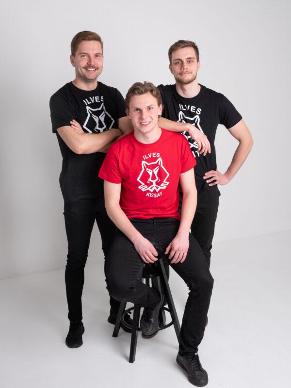 Ilves-Kissat musta t-paita verkkokauppa