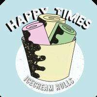 Happy Times jäätelörullat